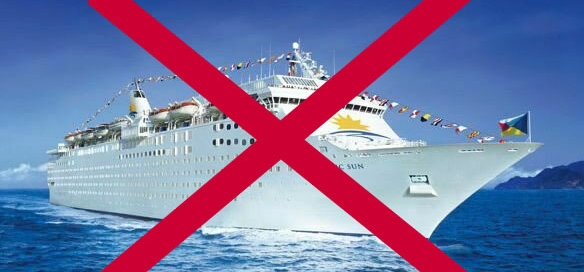 no to cruise ships